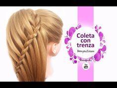 5 Peinados Faciles Y Rapidos Y Bonitos Con Trenzas (P9) | Peinado 2015 - 2016 ♥ Yencop - YouTube