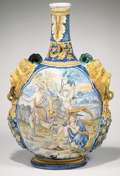 17th century French Vase at the Metropolitan Museum of Art, New York