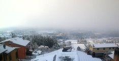 San Valentino con la neve sul Lazio