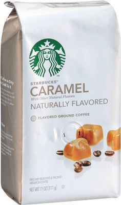 Starbucks Natural Fusions Ground Coffee, Caramel Flavored, 11-Ounce Packages (Pack of 2) - http://hotcoffeepods.com/starbucks-natural-fusions-ground-coffee-caramel-flavored-11-ounce-packages-pack-of-2/