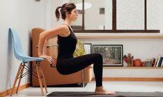 Pilates em casa para fortalecer os braços