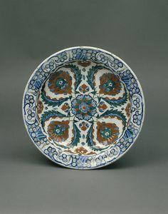Turkish plate, from Iznik