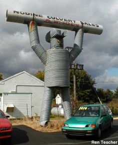 Visit reports, news, maps, directions and info on Culvert Man in Nodine, Minnesota. Great Places, Places To See, Roadside Attractions, Water Tower, Road Trippin, Worlds Largest, Minnesota, Scary Photography, Around The Worlds