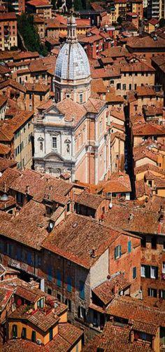Burnt Sienna, Tuscany, Italy by Jon Reid