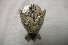 French para badge, Franse borsthanger 1e RCP   Para badges wings international   militariadefoerier