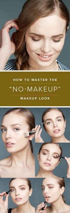 This tutorial will walk you through step-by-step on how to get the most natural no-makeup makeup look.