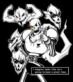 UnderTale Papyrus by Rocket Punch Riot!!