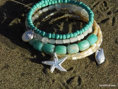DIY Beach-inspired bracelet favors from NorthShore Days