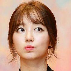 Yoon Eun Hye--love the see through bangs!