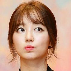 Yoon Eun Hye--love the see through bangs!