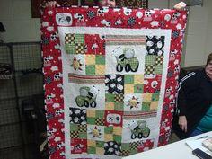 Manny's 1st Birthday quilt