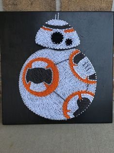 This is for the Star Wars fan art board. board can be custom made to any size or color you prefer, just ask and I am willing to work with you. Please look at my other Star Wars boards as well. String Art Templates, String Art Tutorials, String Art Patterns, Star Wars Crafts, Star Wars Art, Bead Crafts, Arts And Crafts, Diy Kits For Adults, Nerd Room