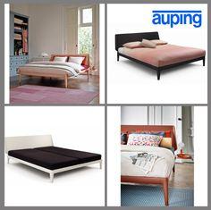 Auping Essential Bettgestell (inkl. Unterfederung)  Das gelungene Design des Essential Bettes von Auping ist ein besonderes Stilmöbel für jedes Schlafzimmer. Neben der Formgebung und der eleganten Linienführung begeistert dieses Bett auch durch die attraktiven Farben.