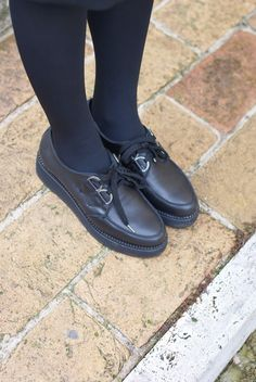 Penelope creepers shoes, black creepers shoes, Fashion and Cookies, fashion blogger