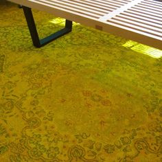 Tutorial: How to Overdye a Rug. ty, the improvised life. via Design Lines, Ltd.