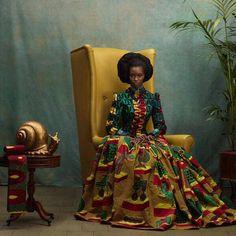 Afro es bello en el mundo