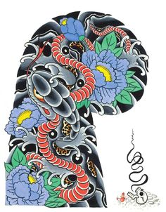 #ClippedOnIssuu from Garyou Tensei. 108 Japanese tattoo sleeve designs by Yushi 'Horikichi' Takei