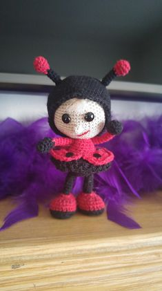 Ravelry: maurenv's Ladybug doll #littleowlshut #crochetpattern #amigurumi #amigurumidolls #doll #stelmakhova_galina #crochetpattern #crochetlove #amigurumi #littleowlshut #Patterns #Crochet #etsy #handmade #crochettoys #crocheting #handcrafted #handcraft #knittersofinstagram #crochetaddict #crochetdoll #Stelmakhova #crochetingisfun #craftastherapy #crocheteveryday #crochetlover #amigurumilove #ladybird #ilovecrochet #ladybug #insect