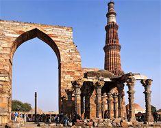 Qutb Minar and its Monuments, Delhi (India)