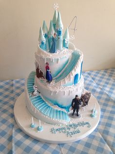 Frozen Elsa & Anna birthday cake The Effective Pictures We Offer You About Birthday Cake for him A quality picture can tell you many things. You can find the most beautiful pictures that can be presen Elsa Birthday Cake, Frozen Themed Birthday Cake, Birthday Cakes For Teens, 5th Birthday, Frozen Theme Cake, Turtle Birthday, Turtle Party, Carnival Birthday, Birthday Ideas