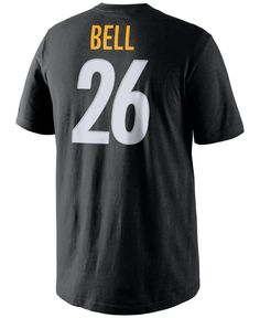 Nike Men's Le'Veon Bell Pittsburgh Steelers Pride Player T-Shirt