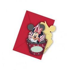 Convites De Aniversário Minnie Café