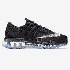 cheap for discount d7a5f 59765 Custom Bling Womens Nike Air Max 2016 Swarovski Crystal Bling Sneakers