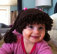 Mia with her new hat! To My Daughter, Nursery, Hat, Baby Rooms, Baby Room, Child Room, Kidsroom, Hats, Babies Nursery