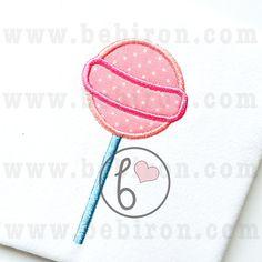 Lollipop Applique Design Machine Embroidery by BebironApplique