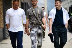 New York Fashion Week: Men's, Day 2 - New York Fashion Week: Men's, Day 2-Wmag