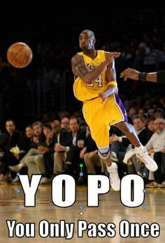 to everyone who thinks kobe is a ball hog. well here's to ya. #lol #ballhog