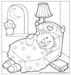 9 Best Pajama Day Images Colouring Pages Colouring Pages For Kids