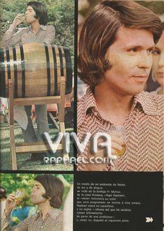 Raphael en la bodega de Domecq. 1972.  De los archivos.. Rafael en la bodeg