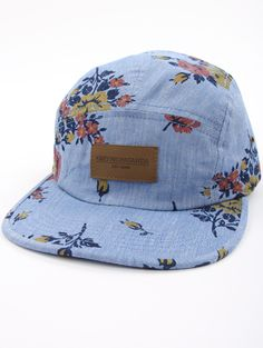 Meadowlark 5 Panel  Hat Indie Clothing Brands b4dd58ed5cec