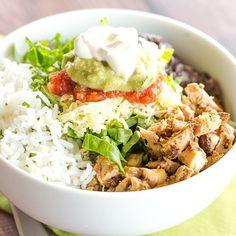 Copycat Chipotle Chicken Recipe via @browneyedbaker