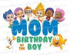 Bubble+Guppies+Mom+of+the+Birthday+Boy+by+TwelveBradburyLane,+$4.00