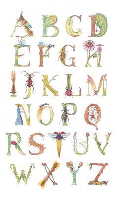 Resultado de imagen para insects abecedary