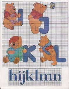 Winnie the Pooh alphabet 3 of 8