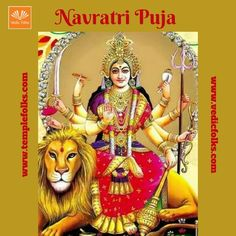 """It's time for the devotion. Navratri is the auspicious day to visit temple of goddesses. In these nine days the goddess will be too powerful. <a href=""""http://www.vedicfolks.com/life-time-management/karma-remedies/shared-homam/navratri-puja.html""""> For more </a>"""