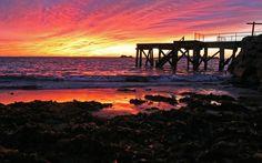 Sunrise at the Horseshoe Bay - Wallpaper