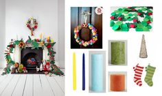 Ideas and inspiration for decorating your mantel this Christmas!