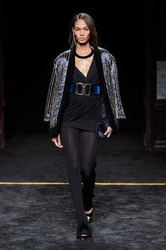 Balmain at Paris Fashion Week Fall 2015 - StyleBistro
