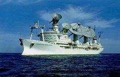 衛星追跡船コスモノート・ユーリ・ガガーリン