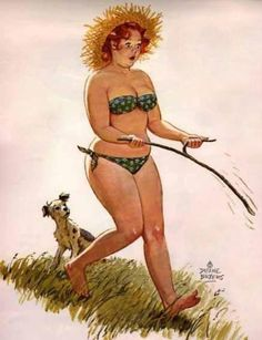 160 Sexy Illustrations Of Hilda: The Forgotten Plus-Size Pin-Up Girl From The Arte Pin Up, Pin Up Art, Dita Von Teese, Pinup, American Calendar, Pin Up Vintage, Vintage Art, Calendar Girls, Western Theme