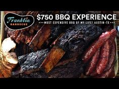 If you like BBQ Franklin Barbecue should be in your bucket list as it was on mine. This video is my journey to the best bbq in the world! Joule Sous Vide, Best Portable Grill, Franklin Bbq, Bbq Equipment, Texas Bbq, Best Bbq, Most Expensive, Austin Tx, Pot Roast