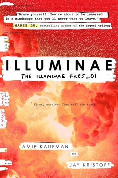 #CoverReveal Illuminae (The Illuminae Files, #1) by Aime Kaufman and Jay Kristoff