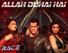 Allah Duhai Hai Lyrics –Race 3 is from the Bollywood Movie. It is starring Salman Khan, Daisy Shah, Bobby Deol, Anil Kapoor, Saqib Saleem & Jacqueline. Saqib Saleem, Daisy Shah, Race 3, Latest Bollywood Movies, 3 Movie, Travel Workout, Fire Heart, Jacqueline Fernandez, Photo Search