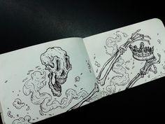 A Coroa #sketch #draw #illustration #sketchbook