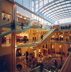 Mercursenteret (2000) – ARC arkitekter Shopping Center, Skylight, Mansions, House Styles, Home Decor, Decoration Home, Dormer House, Manor Houses, Room Decor