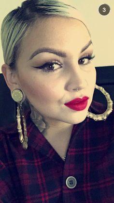 Pin up chola makeup stef lova
